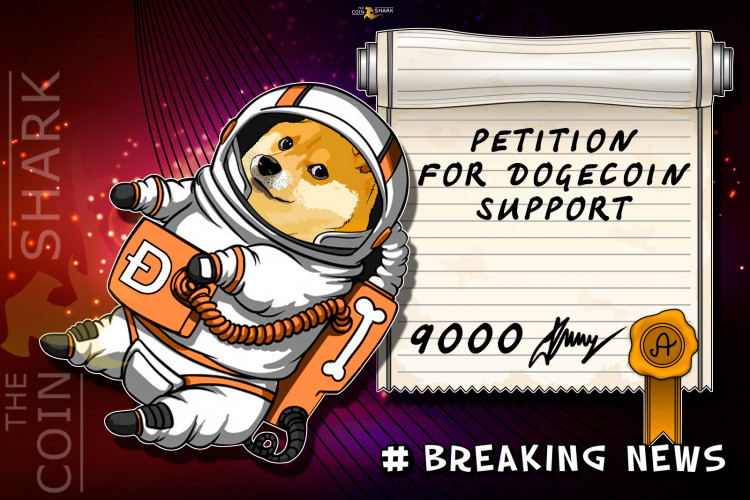 The Petition to Amazon in Support of Dogecoin Collected More Than 10 Thousand Signatures