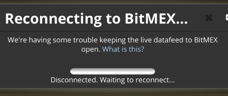 Technical Issue Has Struck BitMEX, What Happened to Bitcoin Price?