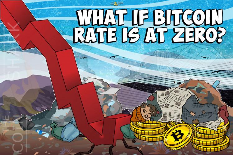 What if Bitcoin Rate Is at Zero?