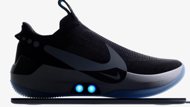Nike Came Out with Shoes That Tie Laces Themselves