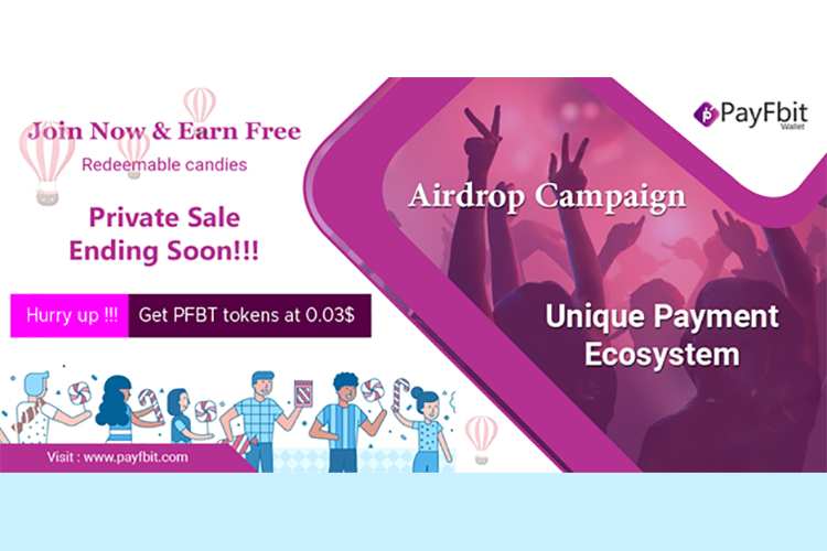 Hurry up! Get your Candies before PayFbit Airdrop Campaign ends & Get PFBT Tokens at Lowest Price Ever!!!