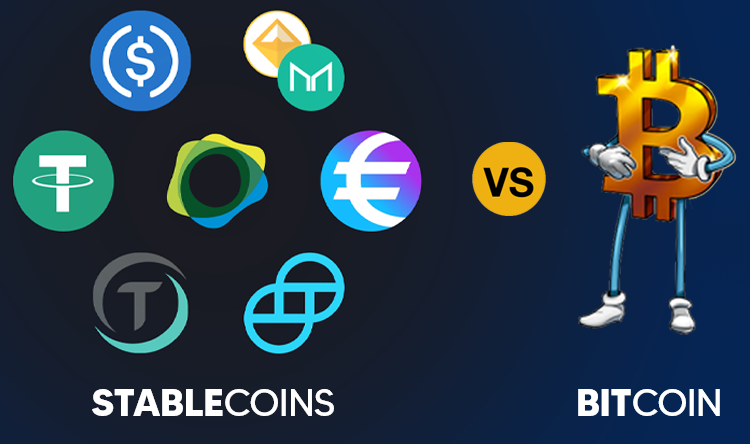 Bitcoin Vs Stablecoins: Who Will Win?