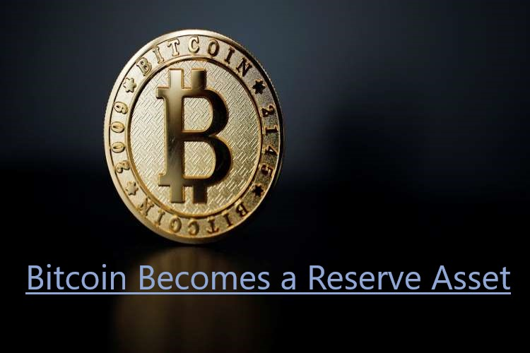 Bitcoin Becomes a Reserve Asset