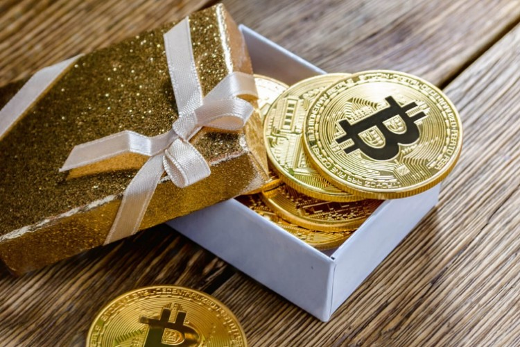 Bitcoin as a gift from EXMO