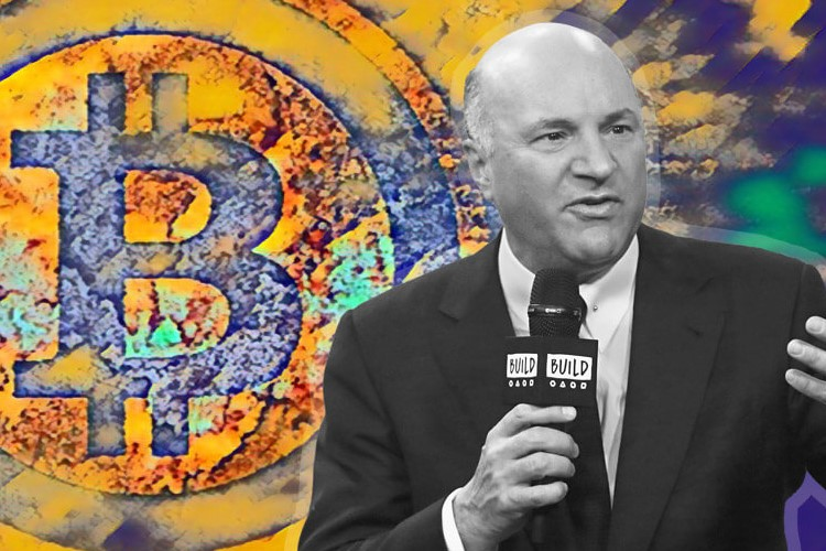 Kevin O'Leary predicted a 20-fold increase in Bitcoin capitalisation