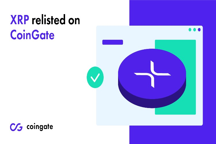 CoinGate has re-listed XRP